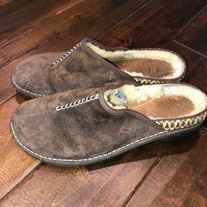 Women's size 10 ugg slip on clogs